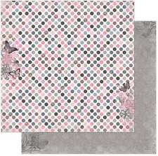 NEW BO BUNNY ISABELLA SAVVY STYLE 12X12 PAPER 2CT