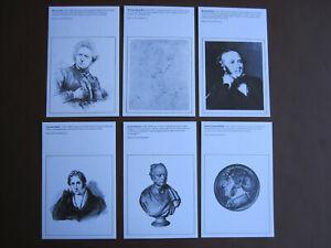 GB - National Postal Museum - set of 6 unused postcards - Series 1