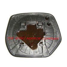Honda CRV 2007 a 2013 Lado Derecho Ala Espejo de cristal de plata y placa base