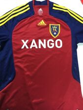 Adidas Mens Size Small Clima 365 Short Sleeve Real Salt Lake Xango Soccer Jersey