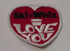 SKI-WHIZ Snowmobile Cloth Patch for Shirt or Jacket 3 X 3 Inches Massey Ferguson