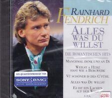 Rainhard Fendrich + CD + Alles was Du willst + Album mit 16 romantischen Hits +