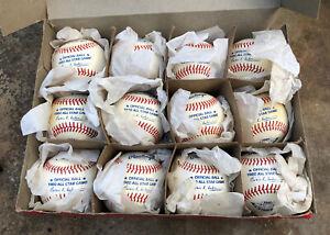 Vtg 1980 Rawlings Official All Star Game Baseball Box of 12 Balls Dodger Stadium