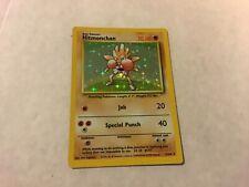 1999 WOTC Pokemon Hitmonchan -  Card #7/102 Base Set - Hologram - Near Mint