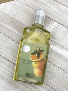 Bath & Body Works Cool Citrus Basil Shower Gel - 10 fl oz - RETIRED