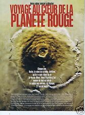 Coupure de presse Clipping 1997 Mars : La PLanete Rouge  (8 pages)