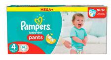 Pampers Baby Dry Pants Windeln, Gr. 4 (8-14 kg), Mega Plus, Monatsbox  1 x 94 St