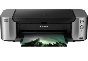 canon pixma pro-100 inkjet digital photo printer