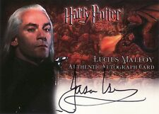 Harry Potter Goblet of Fire Jason Isaacs / Lucius Malfoy Auto Card
