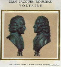 ROUSSEAU ET VOLTAIRE Yt1990 FRANCE  FDC Enveloppe Lettre Premier jour