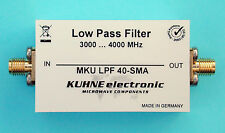 Low Pass Filter MKU LPF 40 SMA, DB6NT, Kuhne, 3000 - 4000 MHz