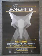Shapeshifter 2012 Berlin Orig. Concert-Concert-Tour-Poster - affiche DIN a1