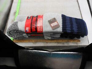 Wolverine Wool Boot Sock 2 PACK Warm Socks Merino Wool Blend NAVY/MARINE 9-13