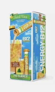 Zipfizz Energy Drink Mix Lemon Iced Tea 20 ct w/ vitamin B12 0 sugar