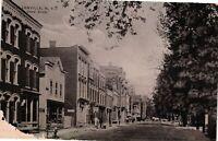 Vintage Postcard - RPPC 1900s Canal Street El Lenville New York NY Unpost #3301