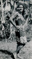 TAHITI c. 1950 - Jeune Indigène - T11