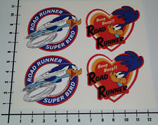 Road runner super Bird Beep Beep 4 pièces autocollant sticker v8 Autocollant tuning se022