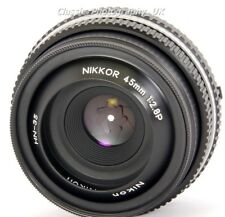 NIKKOR 45mm 1:2.8P Nikon Ai-S Fit digitale + Analogue SHARP Primo Obiettivo Pancake