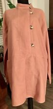 """NEW Umgee Tunic In """"Pumpkin"""" with Pockets, Horn-Like Buttons, Plus Size"""