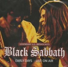 BLACK SABBATH - EARLY DAYS LIVE ON AIR. LASER MEDIA. NEW