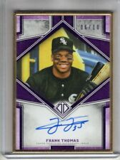 2019 Topps Transcendent Collection Auto FRANK THOMAS Gold Framed AUTOGRAPH 06/10