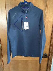 NWT Sunice Men's Allendale SuperliteFX Stretch Thermal Pullover - Grey - Small
