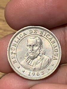 NICARAGUA 1962 10 CENTAVOS COIN POSSIBLY A PROOF