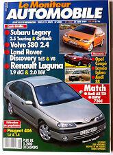 Le moniteur Automobile 24/6/1999; Essai Subaru Legacy/ Volvo S80 2.4/ Land Rover