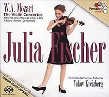 Fischer; Kreizberg; Netherl - Julia Fischer - The Mozart Violin C (NEW SACD SET)
