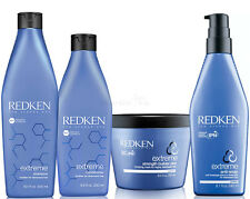 Redken Extreme Set - Shampoo + Conditioner + Strength Builder Plus + Anti Snap