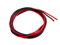 28 AWG SILICON WIRE 1M BLACK + 1M RED IDEAL CABLE FOR LED'S MULTIROTORS