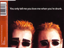 Pet Shop Boys Maxi CD You Only Tell Me You Love Me When You're Drunk - Vol.1
