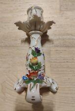 """DRESDEN Porzellan - """"Kerzenständer mit Blumenauflage"""" - unbeschädigt"""