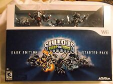 Skylanders Swapforce Dark ED. Starter Pack Wii.  New. Rated E10+.  047875848344