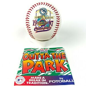 Florida Marlins Commemorative baseball First Ever World Series 1997 NL Champs