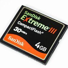 SanDisk Extreme III 4GB  CompactFlash I Card