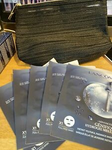 Lot of 5 pc Lancome Advanced Genifique Hydrogel Melting Face Mask Brand NEW!