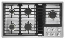 "EXCELLENT CONDITION! JennAir 36"" - 5 Burner Gas Cooktop w/Downdraft Ventilation!"
