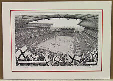 Twickenham - England Rugby. Limited Edition Stadium Art Print by Stuart Herd