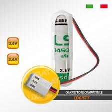 Batteria al Litio SAFT LX - LS14500 3.6V 2.6Ah compatibile LOGISTY (Bat04)