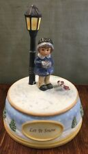 Goebel Berta Hummel 2003 Let it Snow Music Box Bh 1123