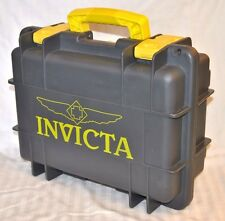Invicta 8 Slot Grey Yellow Dive Box Watch Case