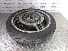 Honda NT 700 Deauville 06 front wheel rim with discs rotors & 70% Pirelli Tyre