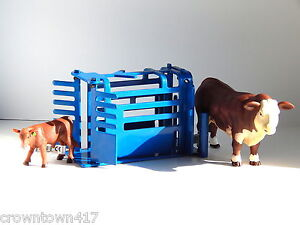 1/16 Little Buster Toy Priefert Calf Roping Chute All Welded Steel Construction