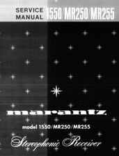MARANTZ 1550, MR250, MR255 Schematic Diagram Service Manual Repair Schaltplan