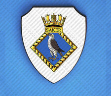 HMS SAKER WALL SHIELD