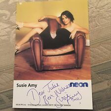 6x4 Hand Signed Photo of Footballers Wives Star Susie Amy
