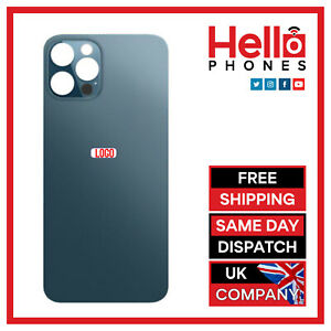 For iPhone 12 Pro / 12 Pro Max Back Glass Rear Glass Battery Cover BIG HOLE