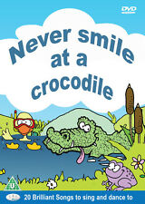 Never smile at a crocodile DVD childrens songs, nursery rhymes, kids music *NEW*