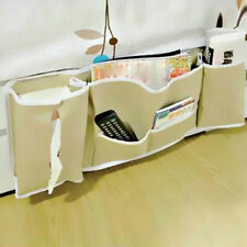 Bedside Bed Pocket Bed Organizer Hanging Bag Phone Holder Storage Bag Useful